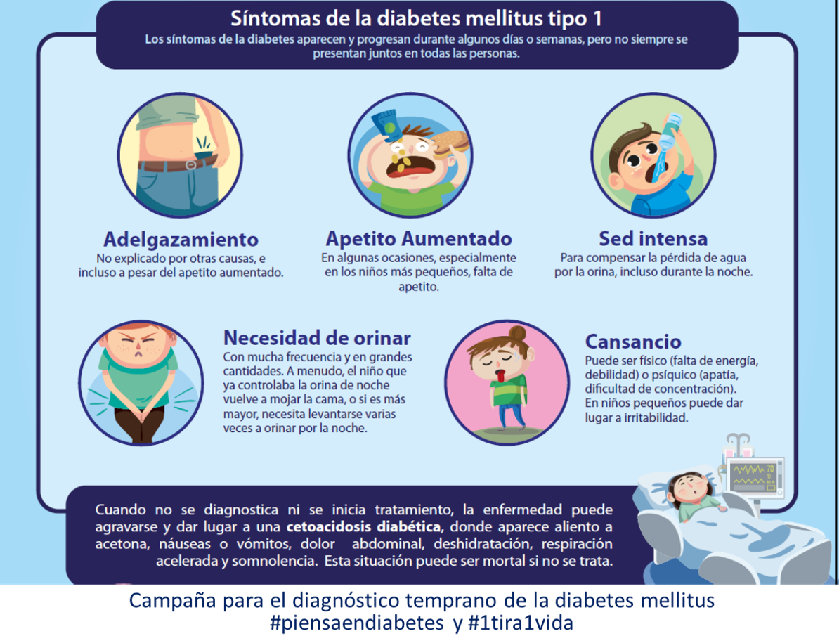 diabetes mellitus tipo 1 cetoacidosis y diabetes